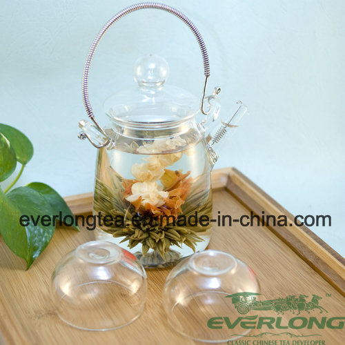 Chinese Handmade Artistic Tea, Blossom Tea, Flowering Tea, Blooming Tea Balls with Customized Gift Package (BT003)