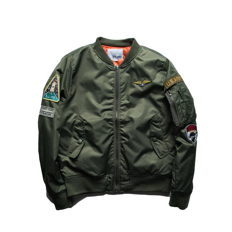 Fashion Outdoor Winter Bomber Coat Jacket Man