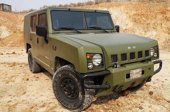 Military Vehicle BAW Yongshi (BJ2036CJE4 BJ2036CJE3 BJ2036CET1)