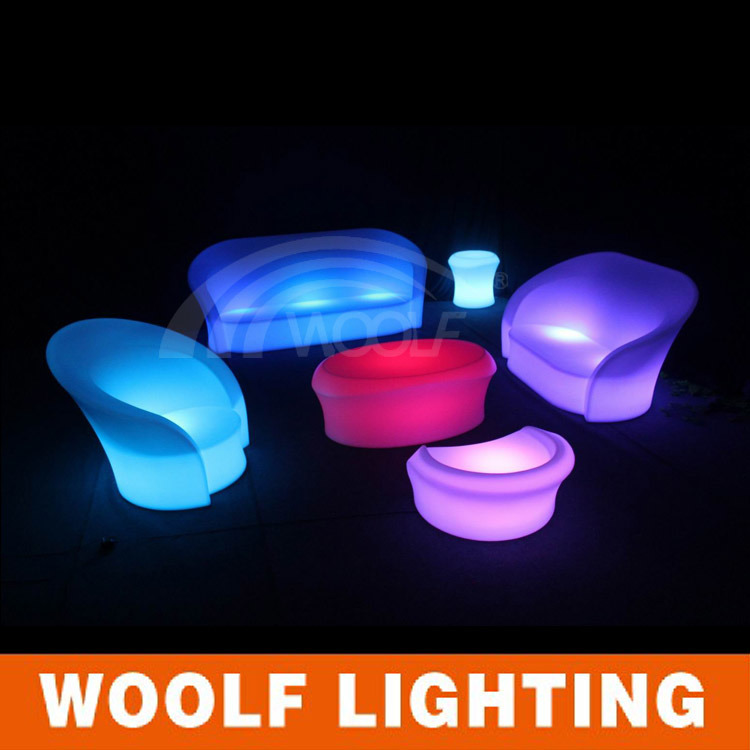 Hot Sale Modern Glowing LED Furniture