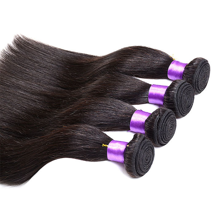 Grade 7A Virgin Brazilian Straight Hair Bundles Natural Black Brazilian Virgin Hair Straight Grace Straight Hair