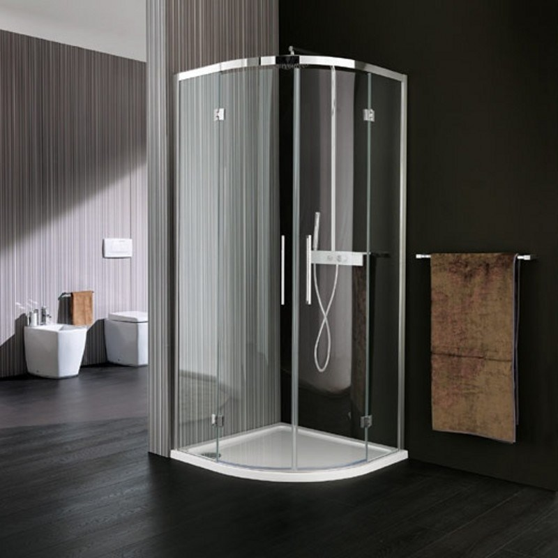 free standing glass shower enclosures