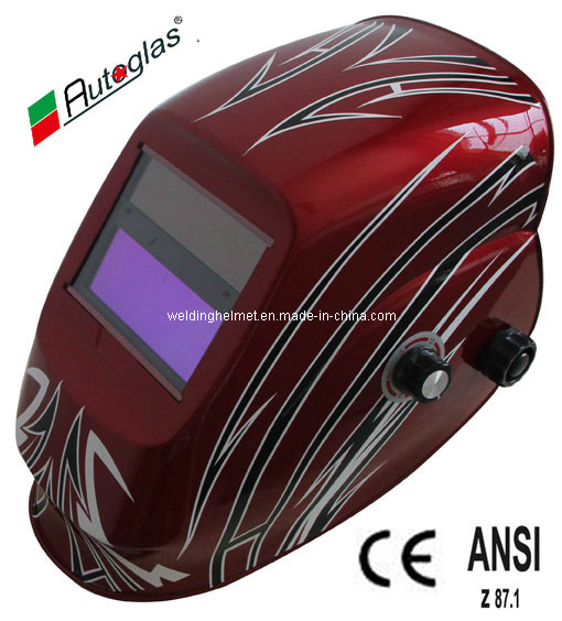 Low Price, AAA Battery, Shade 9-13 Welding Helmet (D1190DS)