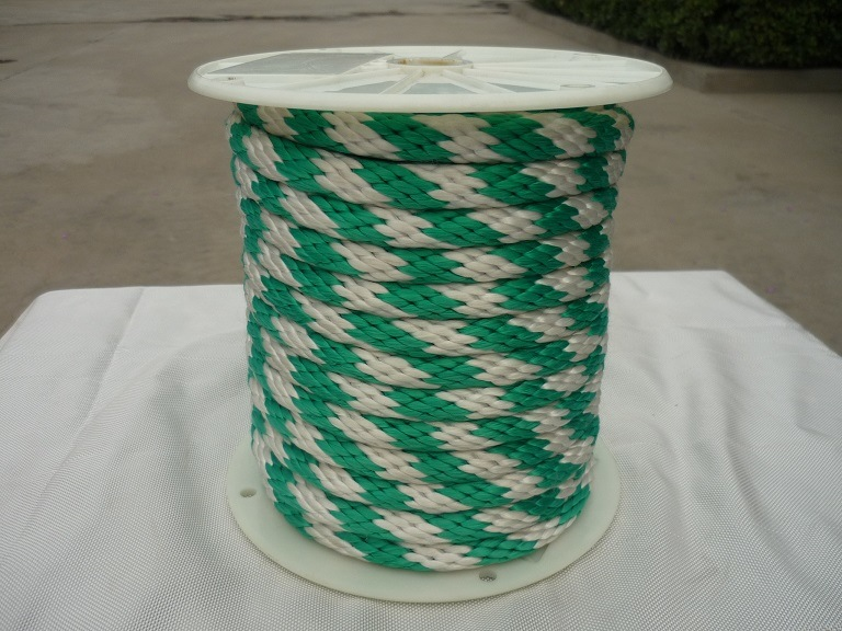 Polyester Solid Braid Rope 12 18 Strands Colored