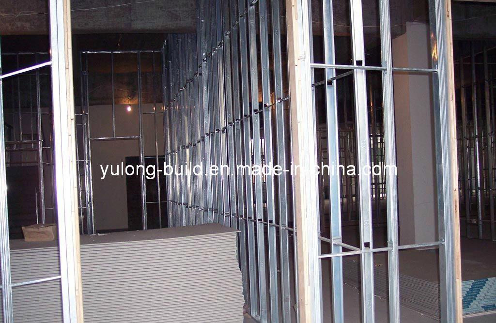 China Steel Channel C Stud U Truck For Gypsum Board