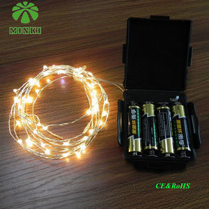 China LED Light Strings with Waterproof Battery Pack - China Light Strings, Waterproof Battery ...
