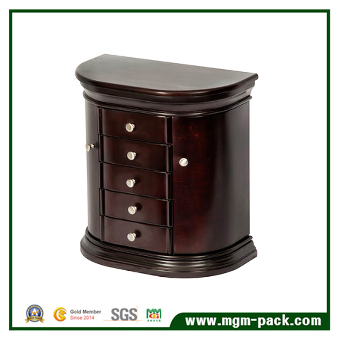 Wholesale Elegant Jewelry Wooden Storage Box