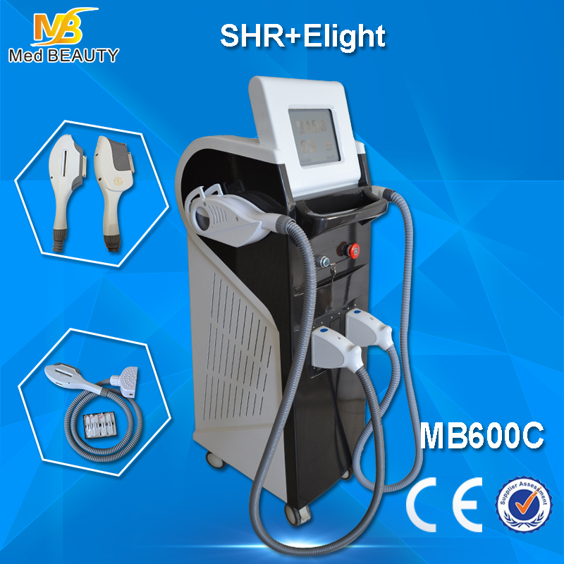 Shr/IPL Hair Removal Machine YAG Laser Tattoo Removal RF Skin Rejuvenation Pigmentation Therapy