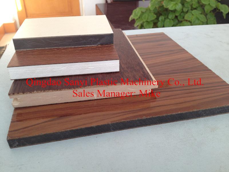 PVC Foam Board Machine for Furniture Panel