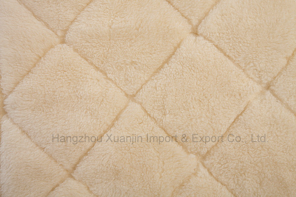 Pure Wool Fleece Reversible Mattress Topper