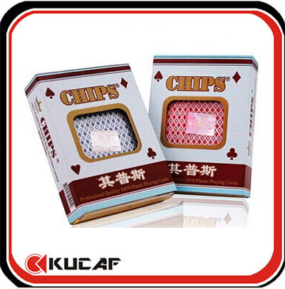 High Quality PVC Plastic Poker Cards