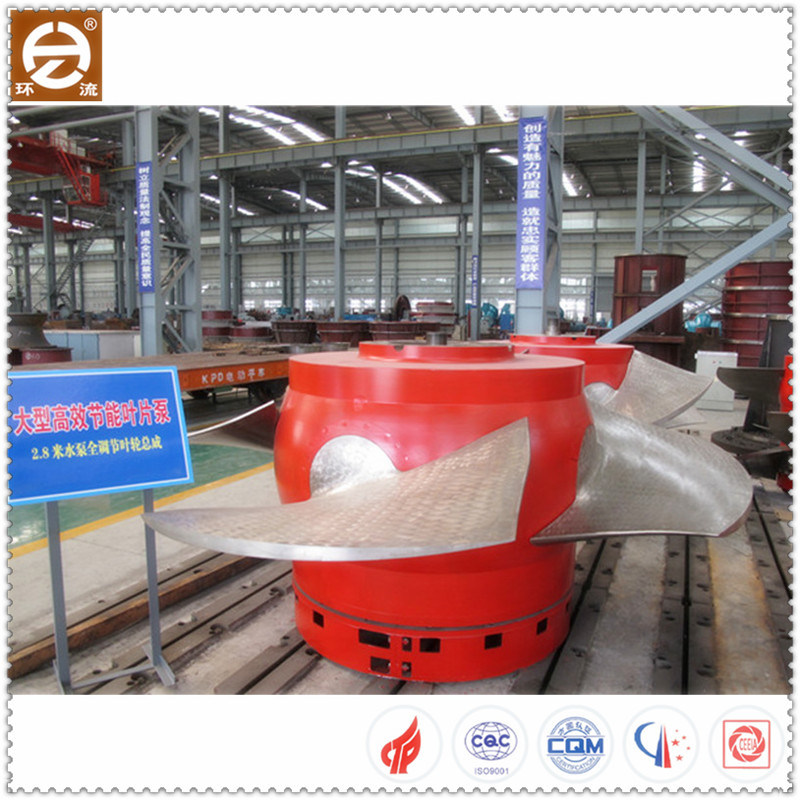 Axial Flow Water Vane Pump with Impeller for Irrigation