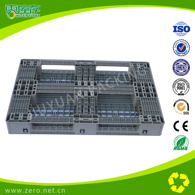 Grey Color Plastic Pallet 1200*800*135mm High Quality HDPE Material