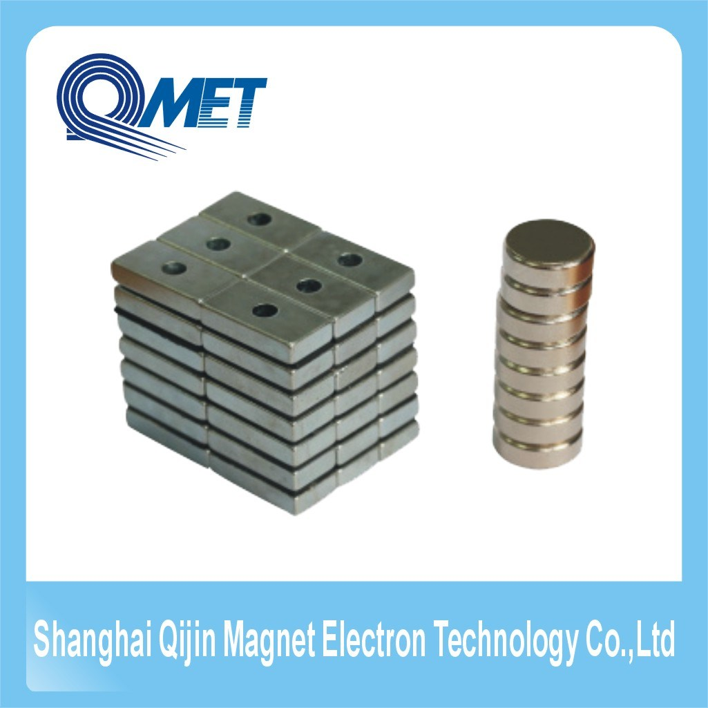 N35 Permanent Rare Earth Cylinder Magnet