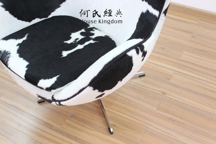 Egg Chair by Arne Jacobsen / European Design Armchair / Danish Design Chaise / Germany Style Lounge