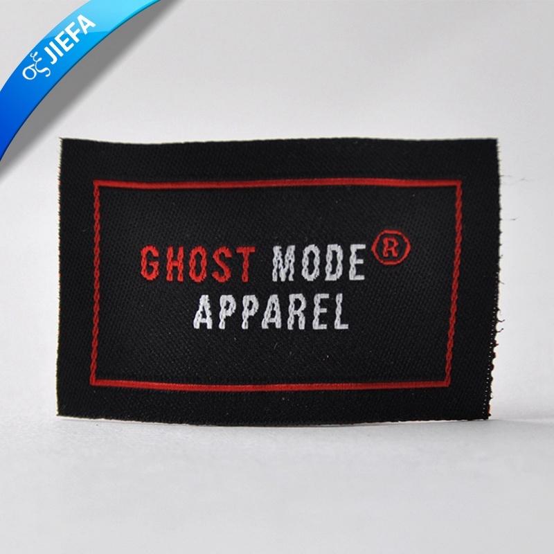 High Density Woven Label for Garment