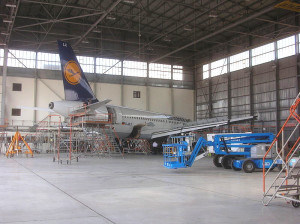Prefabricated Steel Structure Aircraft Hanger (DG7-007)