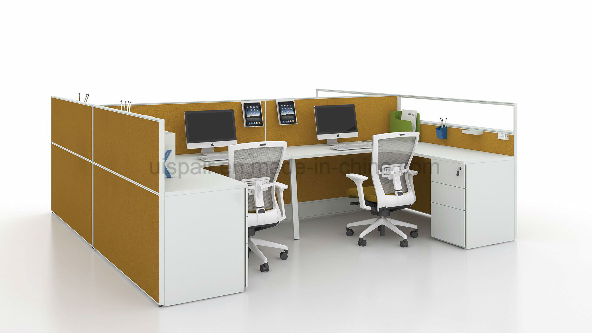 Uispair Modern High Quality Office Partition High Screen Workstation Office Furniture