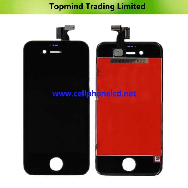 LCD with Touch Screen with Frame for iPhone 4S