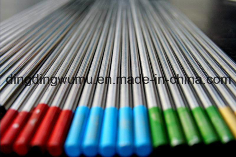 Pure Tungsten Electrodes for TIG Welding