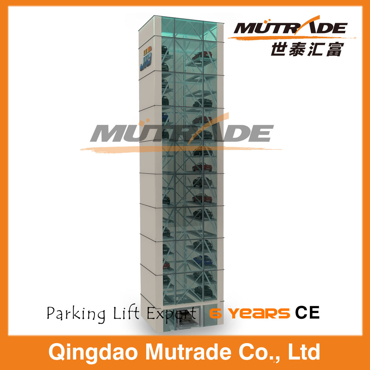 High Level Hydraulic Auto Tower Parking System