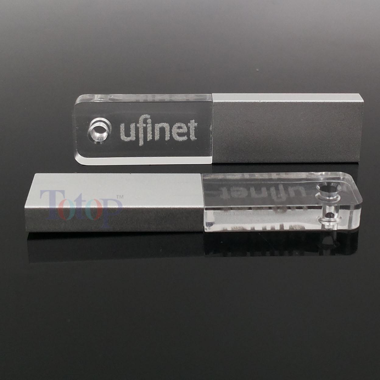 Mini Crystal USB Stick Custom Logo