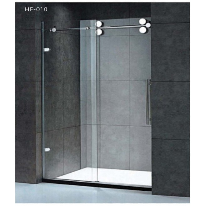 China bathroom shower unit with glass sliding door hf 010 Sliding glass shower doors