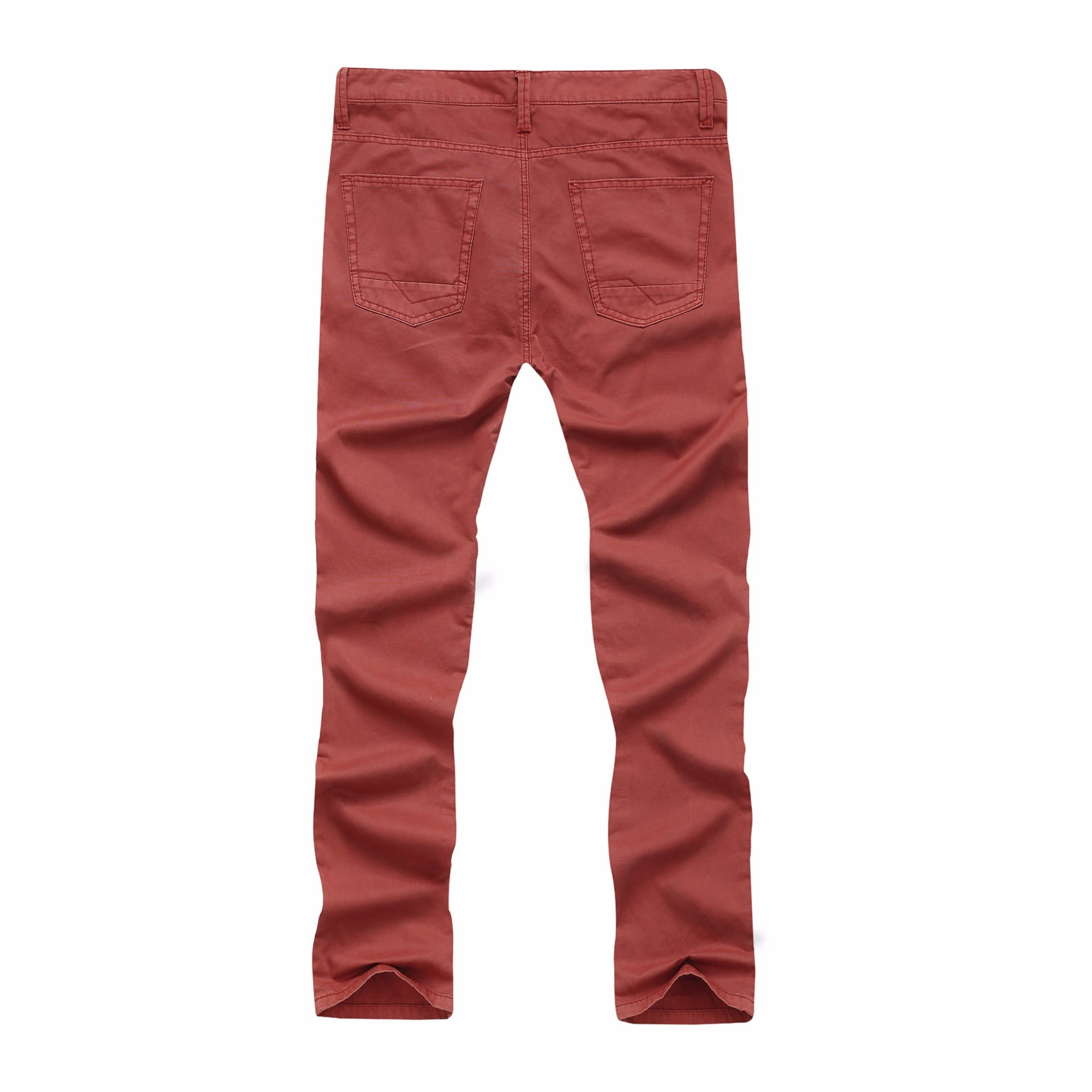 Men Cotton Fashion High Quality Casual Long Pants