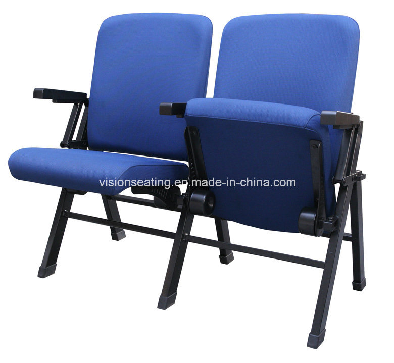 Folding Movable Portable Auditorium Lecture Meeting Conference Hall Church Chair (1114)