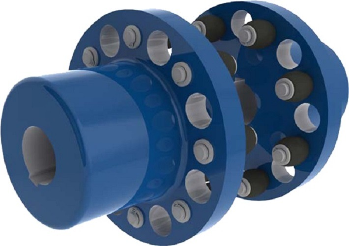 Flexible Elastic Pin Shaft Coupling (HL) with Best Price