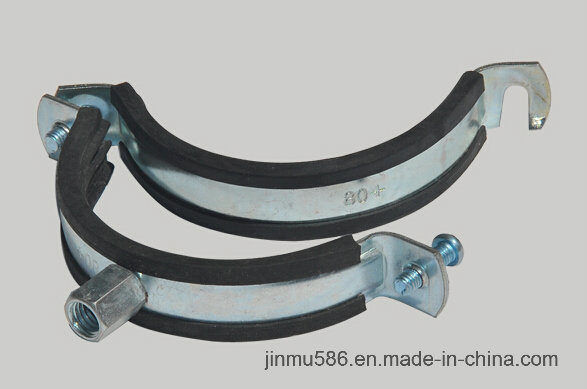 Ventilation Pipe Clamp with Rubber (80)