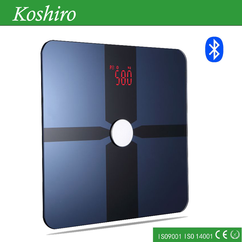 Bluetooth Human Body Weighing Fat Scale with Free APP