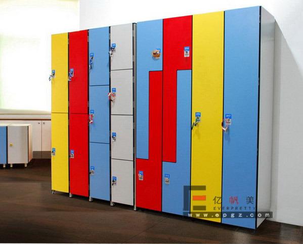 Phenolic HPL Wardrobe Compact Locker for Sauna Room