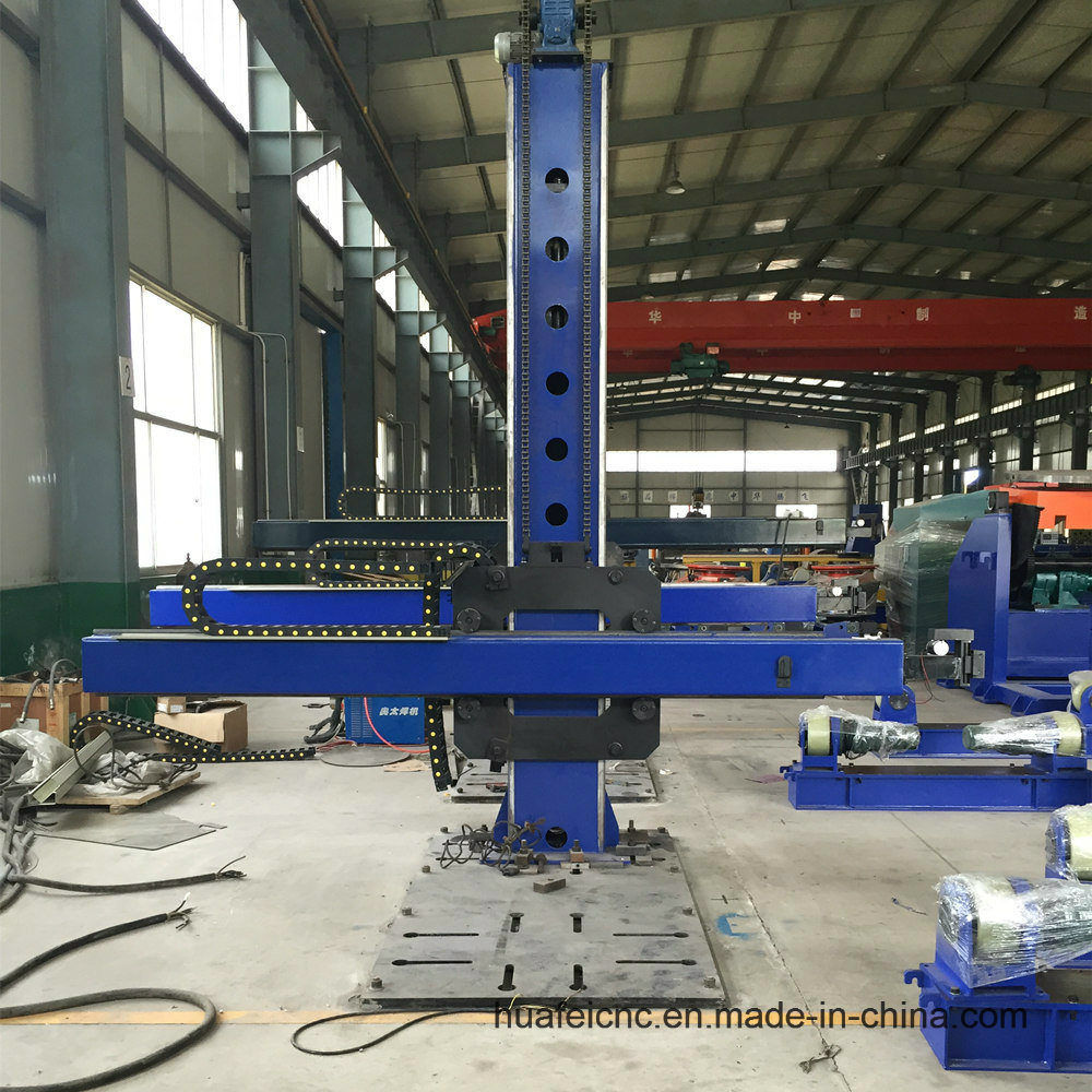 Automatic Column and Boom Welding Manipulator for Welding