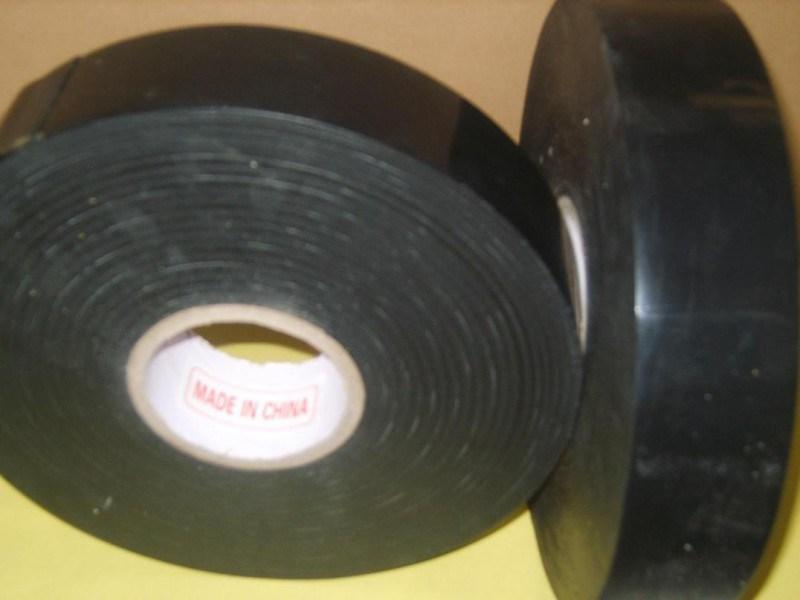 PE Self Adhesive Underground Anticorrosion Pipe Wrap Tape, Wrapping Bitumen Waterproof Duct Tape, Polyethylene Butyl Tape
