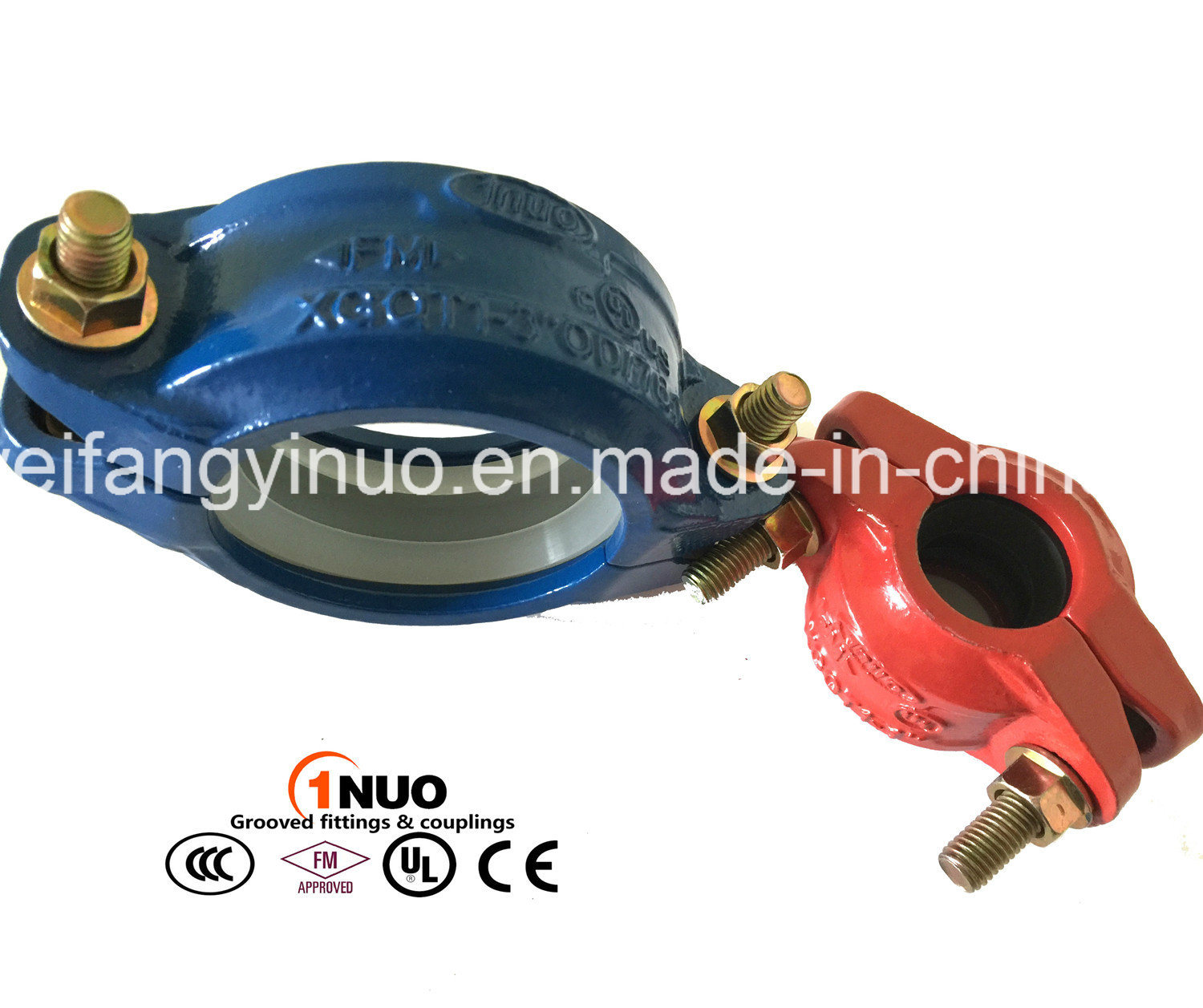 Ductile Iron Flexible Coupling with FM/UL/Ce Approval