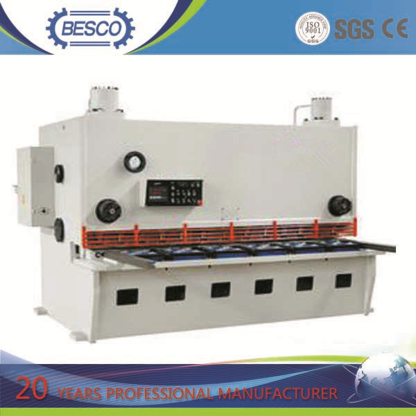 CNC Guillotine Steel Plate Shearing Machine (QC11Y)