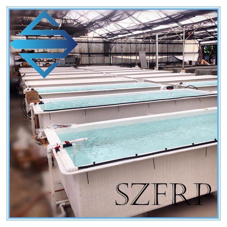 FRP Fish Farm Tank, Fiberglass Aquaculture Tanks