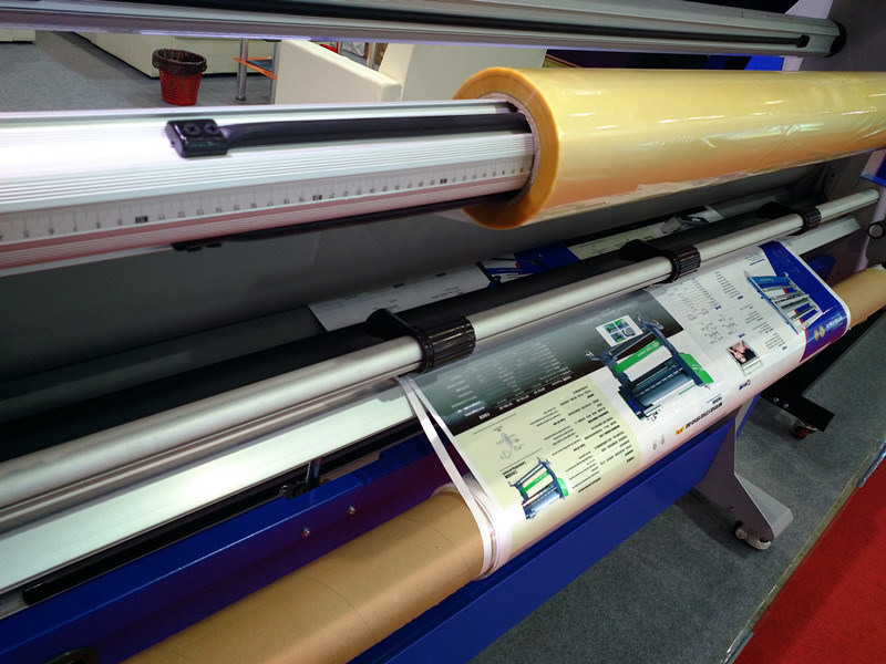 MF1700-F2 Double Side Roll to Roll Hot Lamination Machine