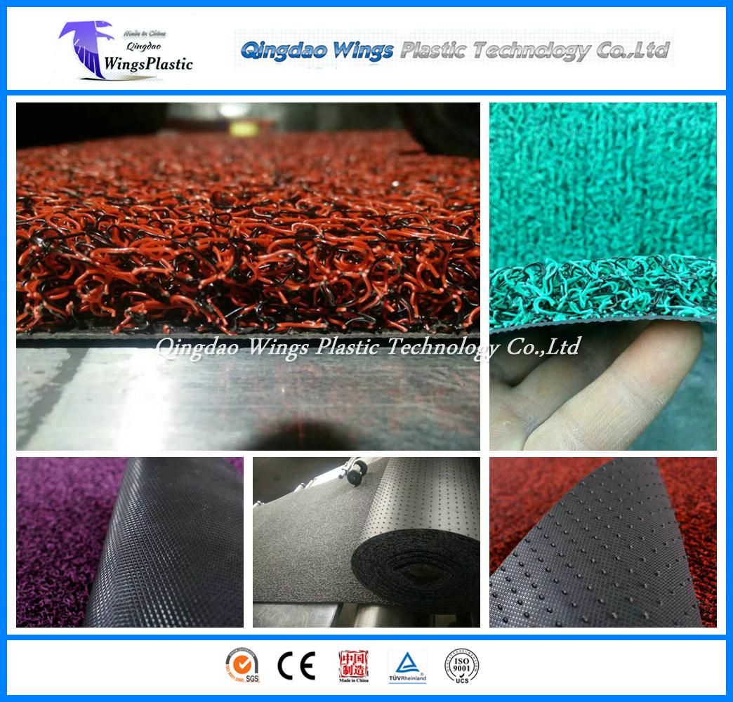 100% Recycled Materials Anti-Slip PVC Coil Door Mat