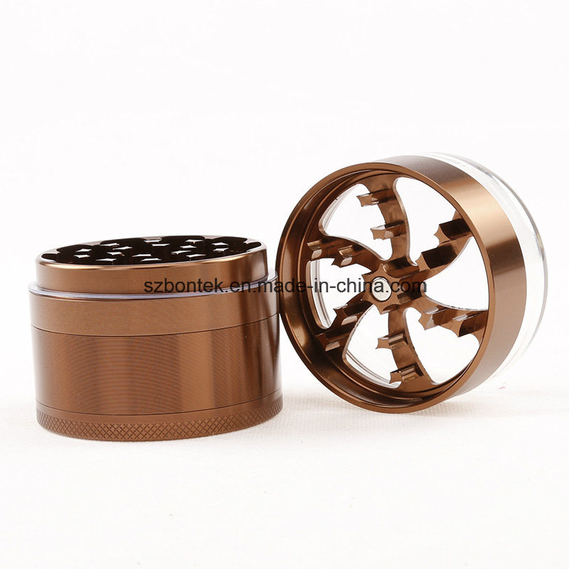 Newest 5 Layers Multi Colour Metal Crusher Tobacco Spice Herb Grinder