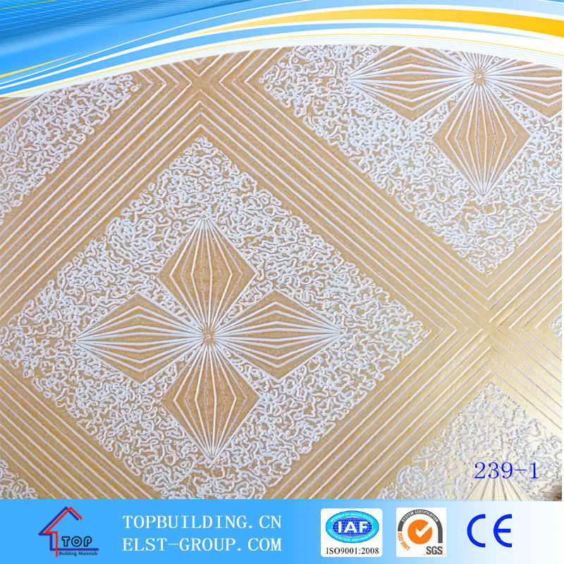 PVC Film for Gypsum Ceiling and Plywood/PVC Film 1230mm*500m