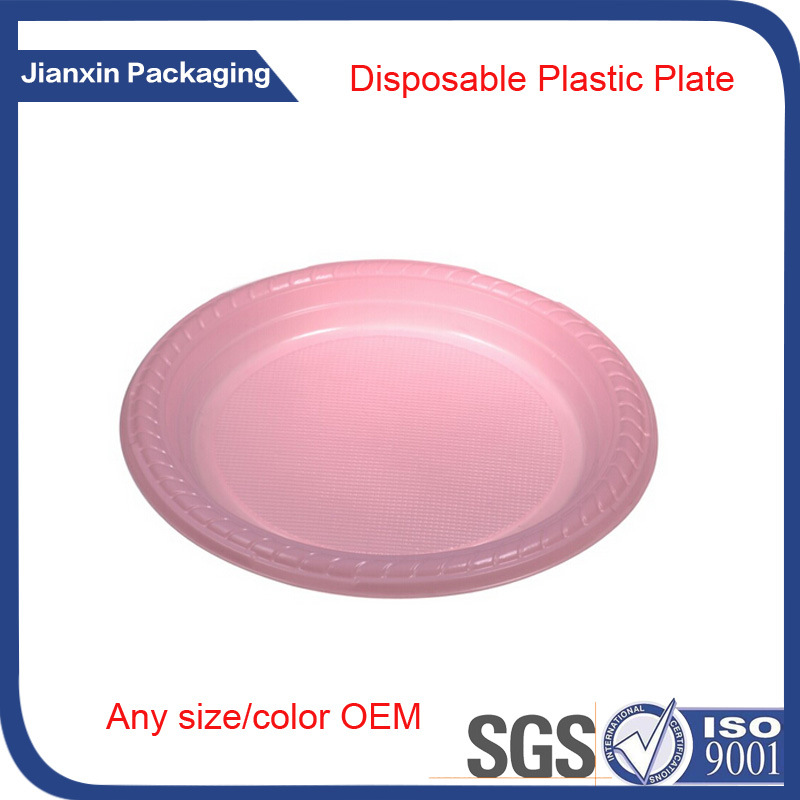 Dispoabale Plastic Plate Tray for BBQ