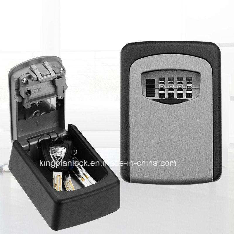 4 Digits Combinaton Mounted Storage Key Box