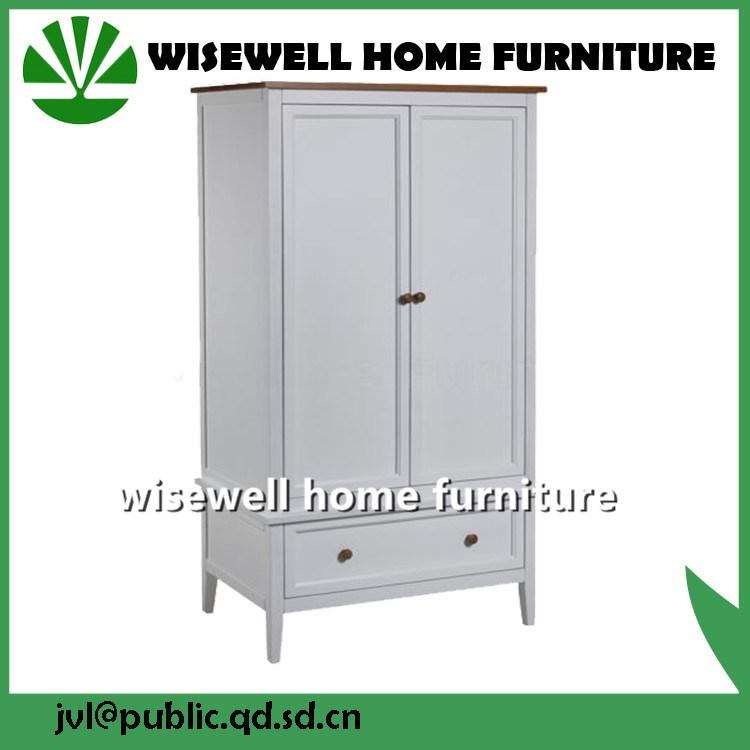 Pine Wood Bedroom Furniture Kids Wardrobe
