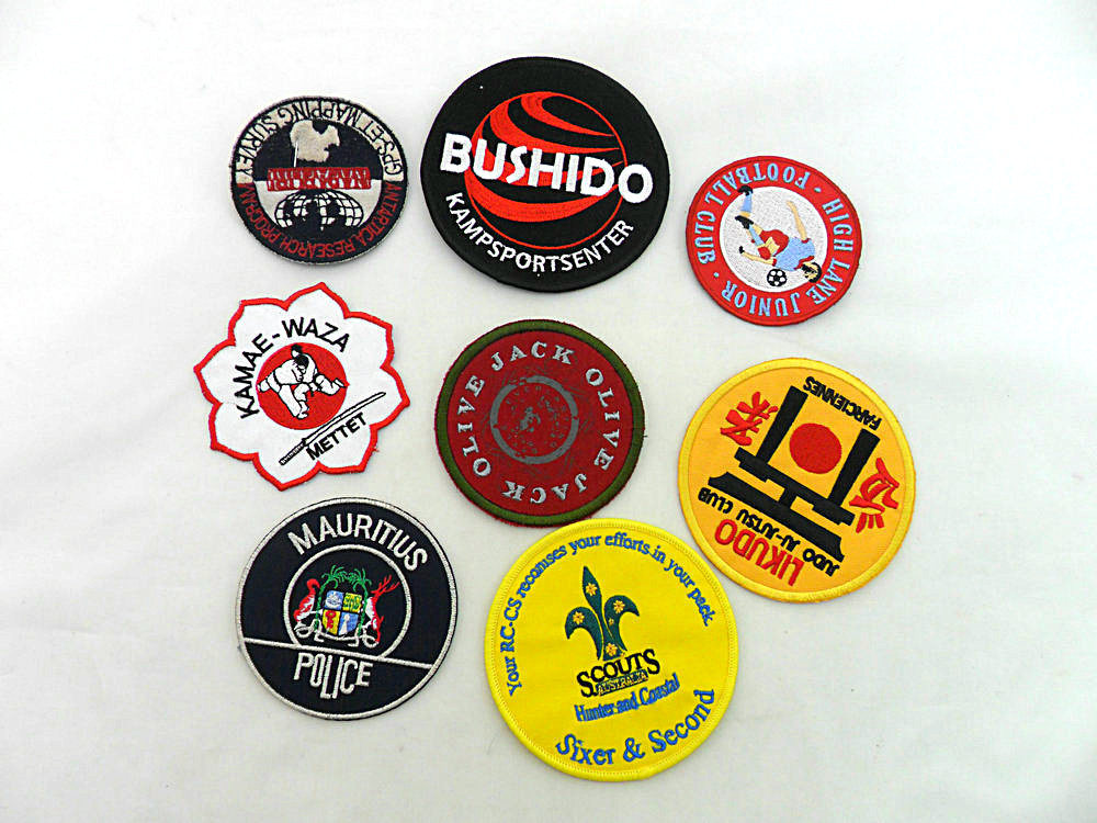 Newly Wonderful Brand Patch Clothing Badges Embroidery