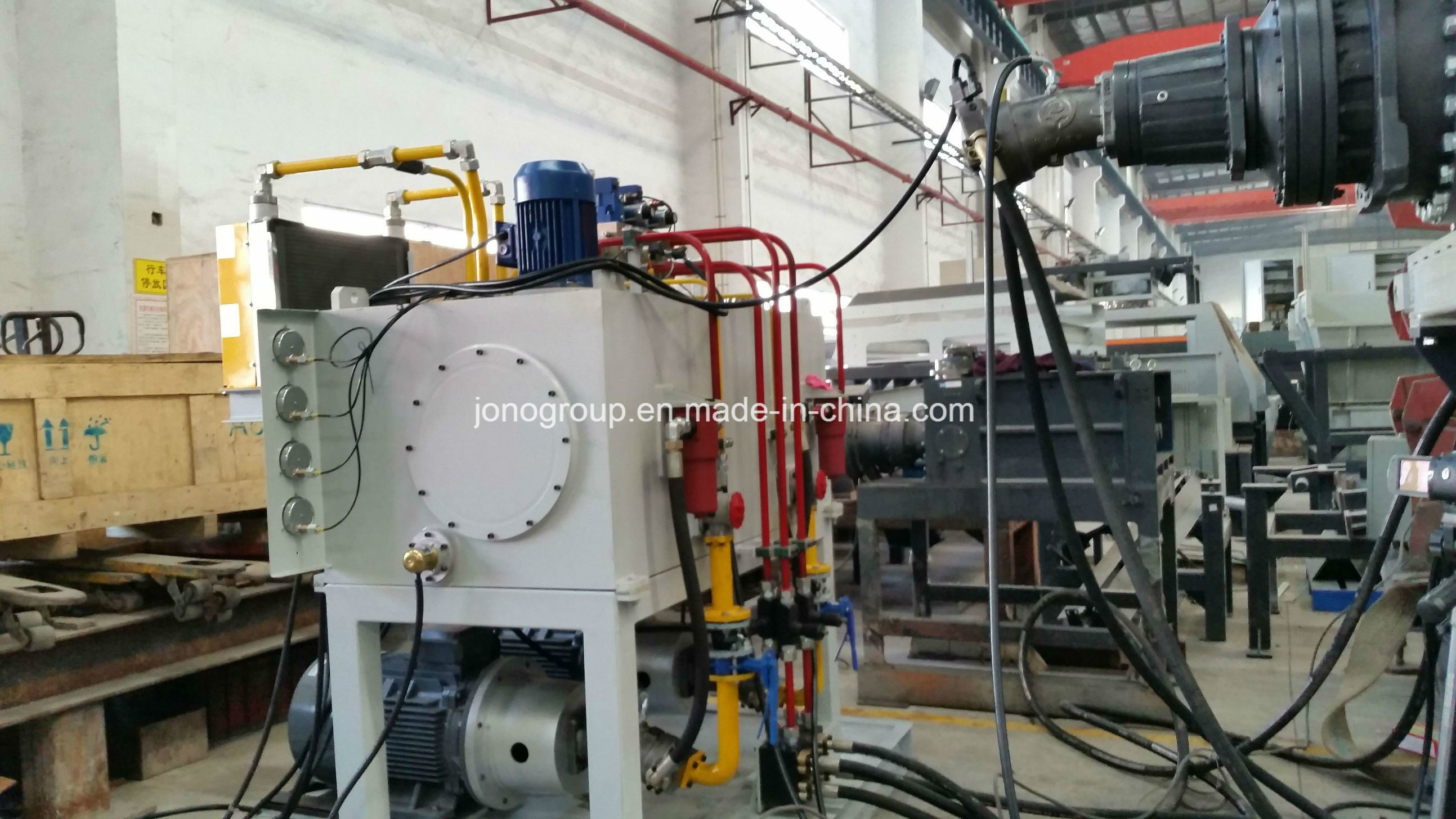 Dual-Shaft (Shear) Shredder for Metal Recycling Industry