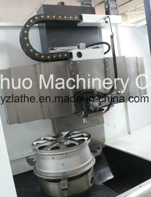 Alloy Rim Repair Wheel Vertical CNC Lathe