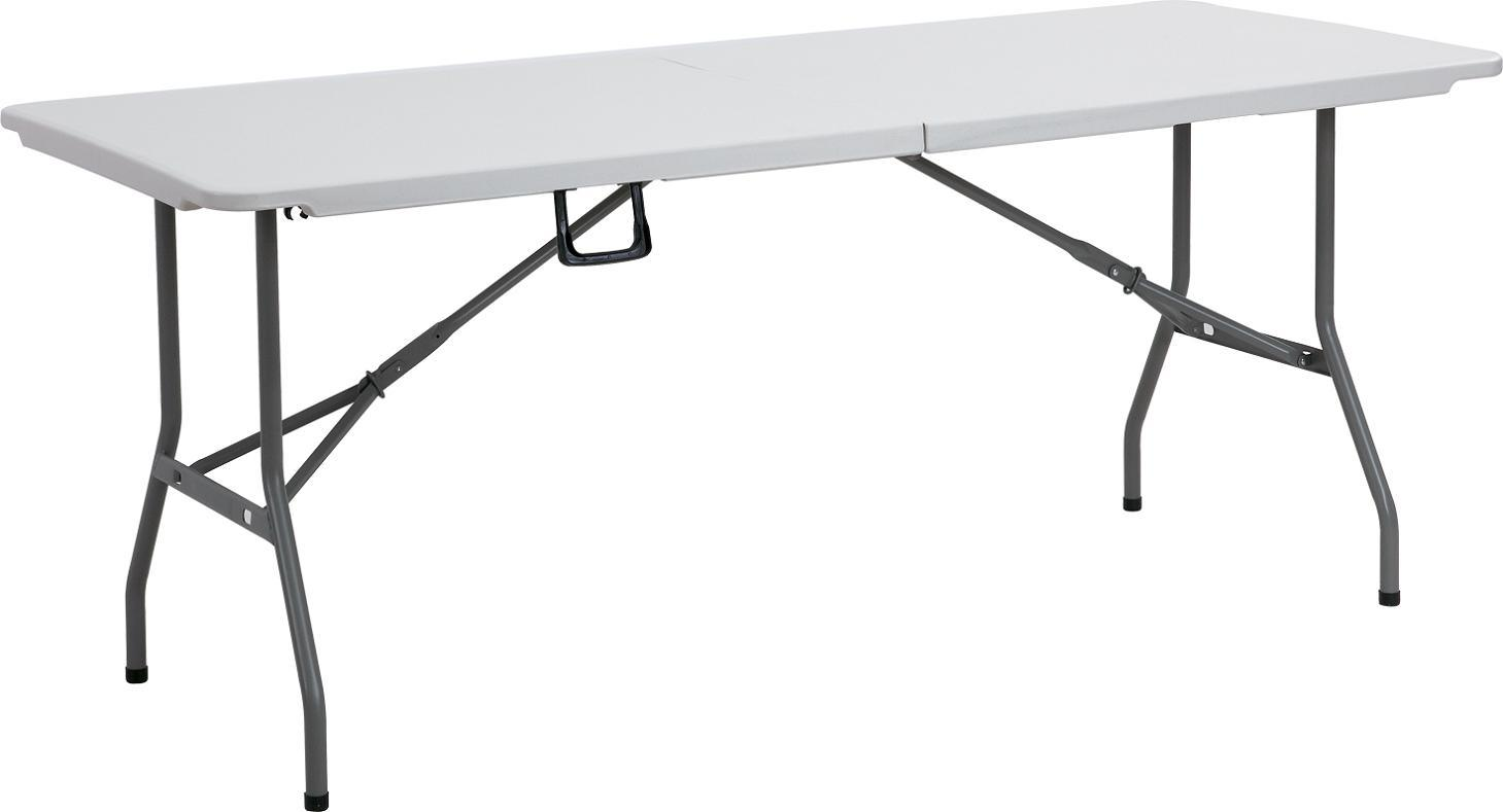 6ft Folding Half Table/Folding Furniture (YCZ-180Z)