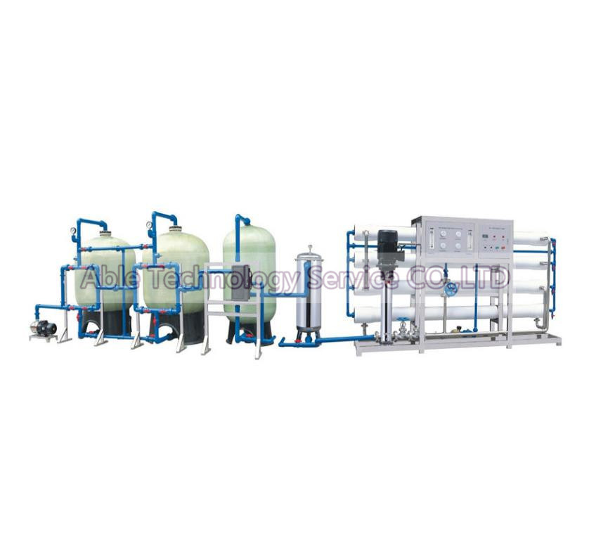 Reverse Osmosis Water Purification Machine / Drinking Water Treatment Machine RO-15000L/H